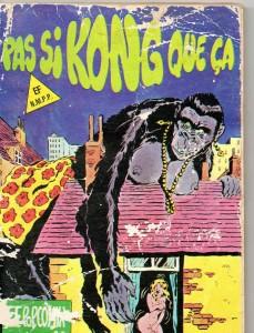 Pas si Kong que ça – collectif, Elvifrance