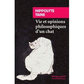 Protégé: Vie et opinions philosophiques d'un chat – Hippolyte Taine