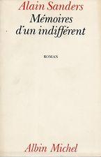Protégé: Mémoires d'un indifférent – Alain Sanders