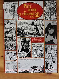 Petite histoire de l'Érotisme dans la BD – Henri Filippini