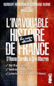 L'inavouable histoire de France d'Homo Soralis à Cro-Macron – Norbert Hérisson, Stéphane Burne, illustrations de Marsault