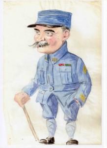 Premenade du rêveur solitaire avec le colonel (er) Henri Gauvin autour du Souvenir de Guerre 1914-1918 d'Onésime Mathieu